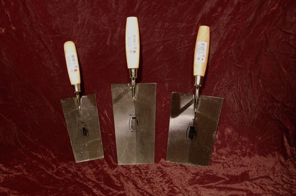 square tip trowels